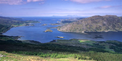 Loch Ailort, from the lower slopes of Rois-Bheinn.