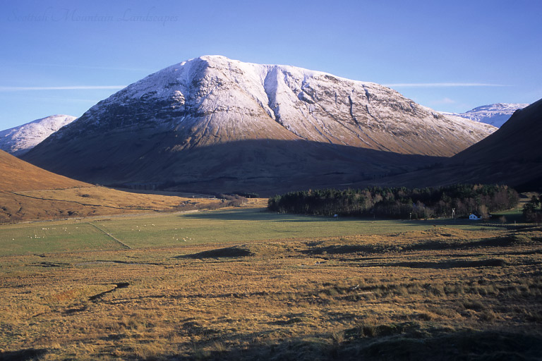 Beinn a'Chasteil, from the west.