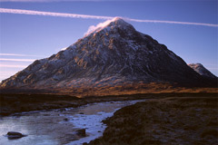 Buachaille Etive Mòr: Stob Dearg, from the River Coupall.