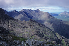 The Lota Corrie, from the summit of Sgùrr a'Choire Bhig.