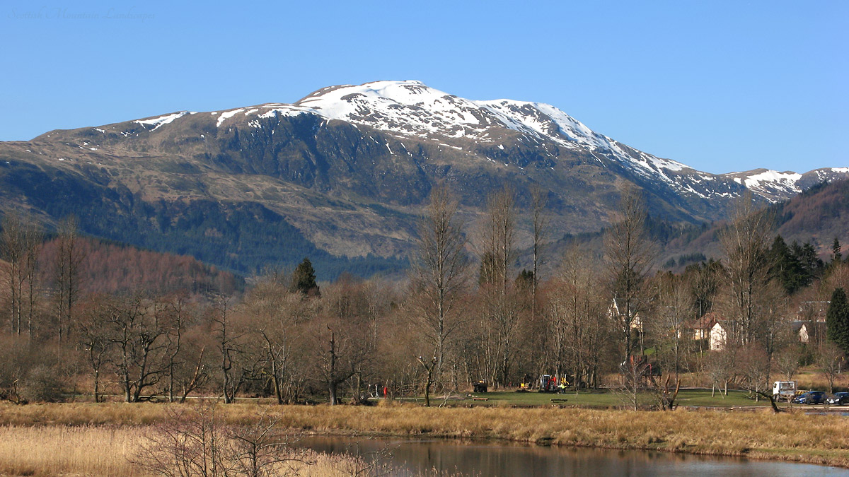 Ben Ledi, from Callander.