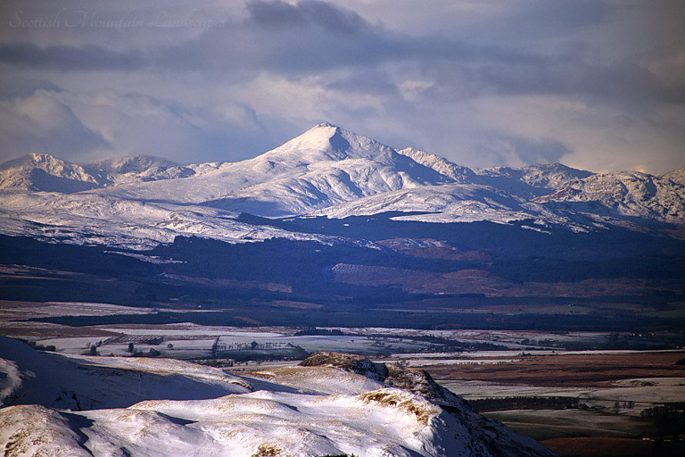 Ben Lomond, from the summit of Meikle Bin, Campsie Fells.
