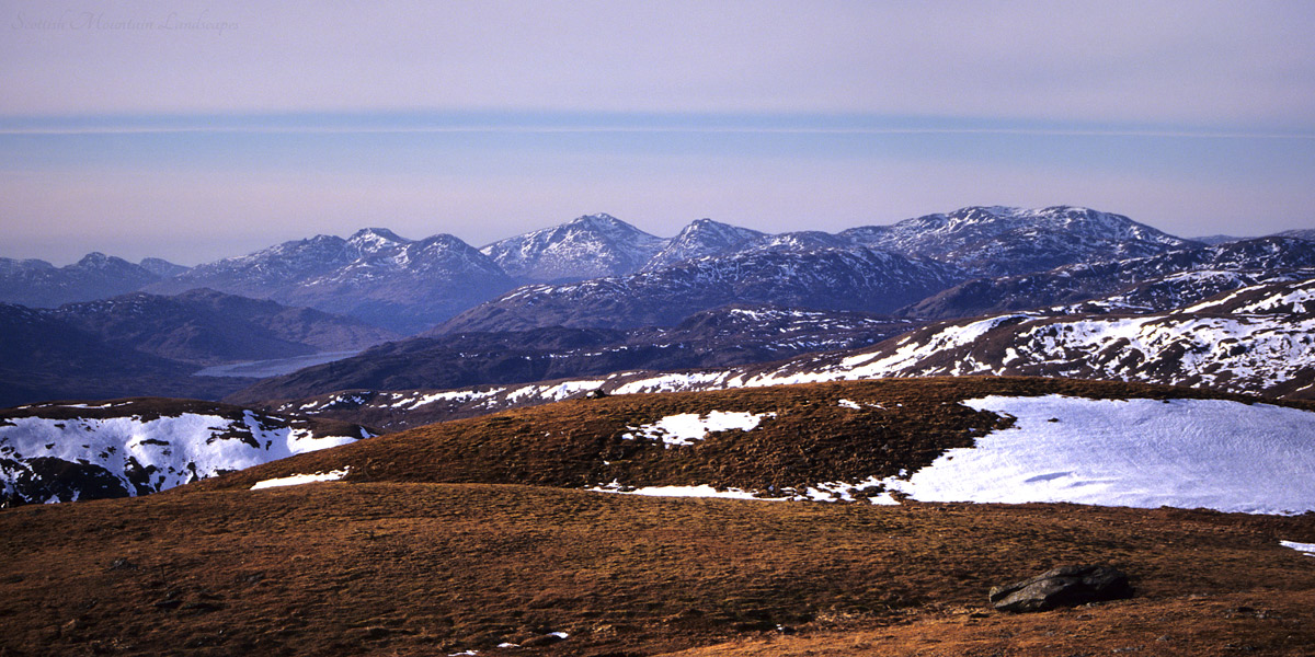The Arrochar Alps, from Benvane.