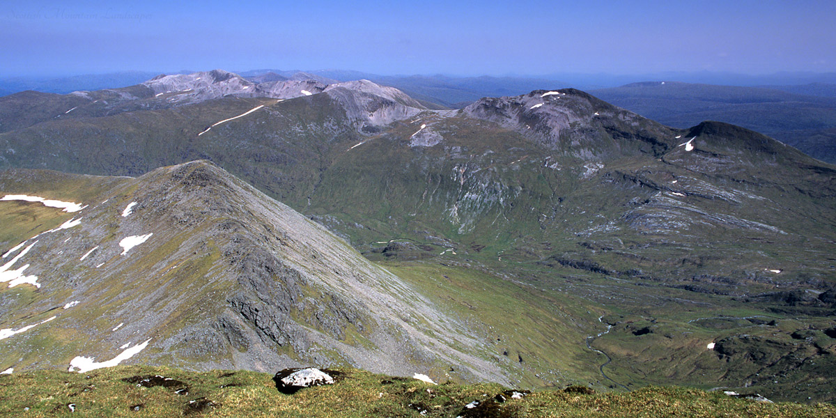 The Grey Corries, from Aonach Mòr.