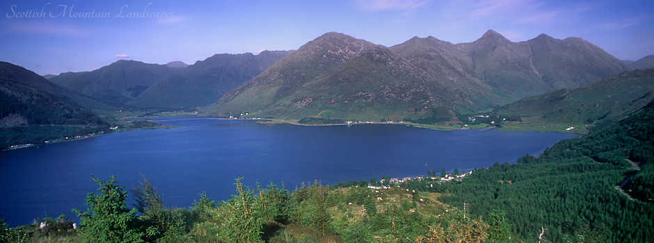 The Five Sisters of Kintail.